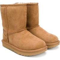 Ugg Australia Kids Classic Shearling Boots - Marrom