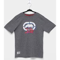 Camiseta Juvenil Ecko Unlimited Masculina - Masculino-Grafite