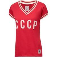 Camisa Cccp Retrô União Soviética Feminina - Feminino