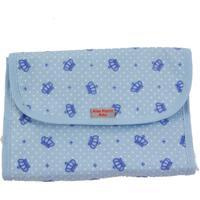 Porta Fraldas Alan Pierre Baby Coroa Azul Bebe Multimarcas Sem Bordado