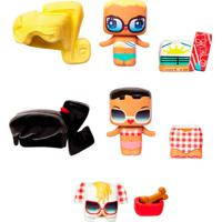 Mini Figura - My Mini Mixieq'S - Mini Com Acessórios E Pet - Diversão Na Praia - Mattel - Feminino-Incolor