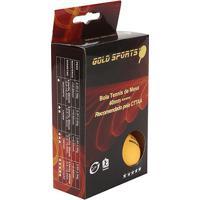 Caixa Com 6 Bolas Para Tenis De Mesa 5 Estrelas Gold Sports - Unissex