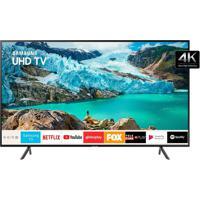 "Smart Tv Led 50"" Un50Ru7100Gxzd 4K Hdr Wi-Fi Usb Hdmi Bluetooth 60Hz Samsung"