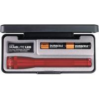 Mini Lanterna Maglite- Vermelha- 17Xã˜3,5Cm- Maglvictorinox