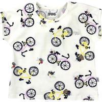Blusa Bicicletas - Branca & Pretapuc