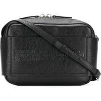 011ebcf72 Farfetch; Calvin Klein 205W39Nyc Bolsa Transversal Com Textura - Preto