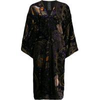 Etro Kimono Com Paisley - Preto