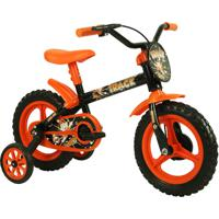 Bicicleta Aro 12 Tk Preto E Laranja Track Bikes
