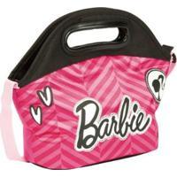 Lancheira Infantil Especial Barbie 18Z - Feminino-Rosa