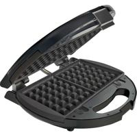 Sanduicheira E Máquina Waffle Antiaderente Chrome 3892 Oster - 110V
