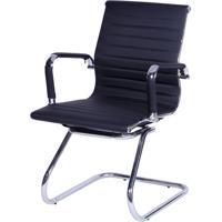 Cadeira Office Eames Esteirinha- Preta- 89X54,5X46,5Or Design