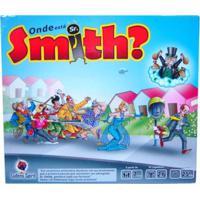 Jogo De Tabuleiro Ludens Spirit Onde Está Senhor Smith Multicolorido - Kanui