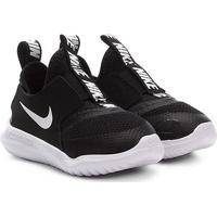 Tênis Infantil Nike Flex Runner Td - Unissex-Preto+Branco