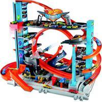 Pista E Veículo - Hot Wheels - City - Mega Garagem - Mattel