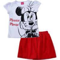 Conjunto Infantil Minnie Tule Disney