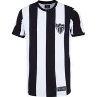 Camiseta Do Atlético-Mg 1971 Retrômania - Masculina - Preto/Branco