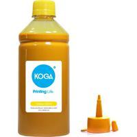 Tinta Para Epson Bulk Ink Sublimática L606 Yellow 500Ml Koga