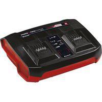 Carregador Power Xchange Duplo Einhell Power-X-Twincharger 3A Bivolt
