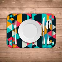 Jogo Americano Wevans Colorful Polygonal