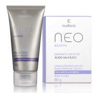 Kit Neo Essens Máscara Carvão Ativado + Sabonete Antiacne