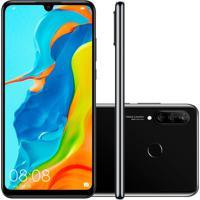 Smartphone Huawei P30 Lite 256Gb Versão Global Desbloqueado Preto