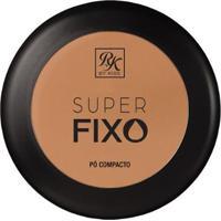 Pó Compacto Rk By Kiss Super Fixo Areia - Unissex-Incolor