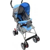 Carrinho De Bebê Color Baby Passeio Slim Azul
