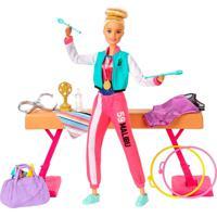 Barbie Playset Ginasta - Mattel - Tricae