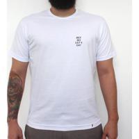 Mini Tipo Hey Ho Let`S Go! - Camiseta Clássica Masculina