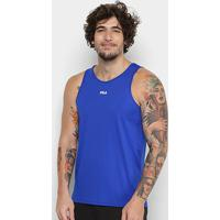 Regata Fila Basic Train Masculina - Masculino-Azul Royal
