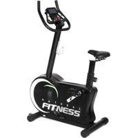 Bicicleta Ergometrica Magnética 8 Níveis Monitor Confortável - Unissex-Preto
