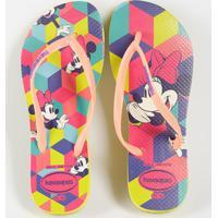 Chinelo Infantil Minnie Kids Disney Havaianas 4130287