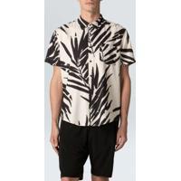 Camisa Sand Palm Mc-Offwhite/Preto - P