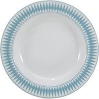 Prato Fundo 23 Cm Porcelana Schmidt - Dec. Helena Verde Pastel