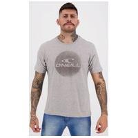 Camiseta O'Neill Especial Cinza Mescla