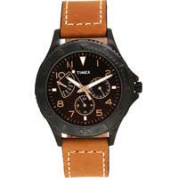 Relógio Timex T2P040Wkl/Tn Bege