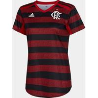 Camisa Flamengo I 19/20 S/N° Torcedor Adidas Feminina - Feminino