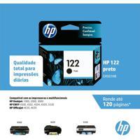 Cartucho Hp 122 Ch561Hb Preto Para 100 2000 2050 3050
