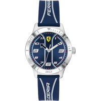 Relógio Scuderia Ferrari Infantil Borracha Azul - 810026 By Vivara