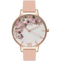 Relógio Olivia Burton Feminino Couro Rosa - Ob15Wg10