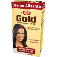 Creme Alisante Niely Gold Com Maxqueratina