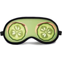 Máscara De Dormir Tritengo Máscara Beleza - Unissex-Verde