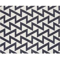 Dhurie Zig Zag Off White/Black