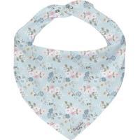 Bandana Floral- Azul & Rosa- 0,5X23X18Cm- Batistbatistela