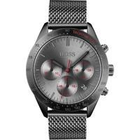 798121e865b Relógio Hugo Boss Masculino Aço Cinza - 1513637