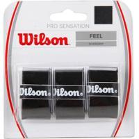 Overgrip Wilson Pro Sensation Preto - Unissex