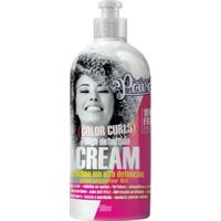 Creme Para Pentear Soul Power - Color Curls High Definition Cream 500Ml - Unissex-Incolor