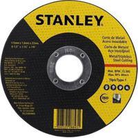 """Disco De Corte Fino Inox Stanley Sta8061 4,5"""", 115 Mm"""