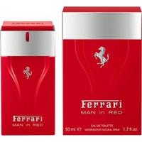 Ferrari Man In Red Eau De Tolitte Masculino 100 Ml