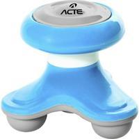 Mini Massageador Corporal Acte T150 - Azul - Unissex